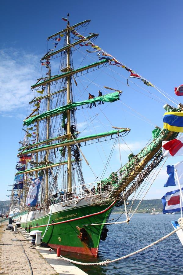 Download HISTORICAL SEAS TALL SHIPS REGATTA 2010 Editorial Stock Photo - Image: 14478298