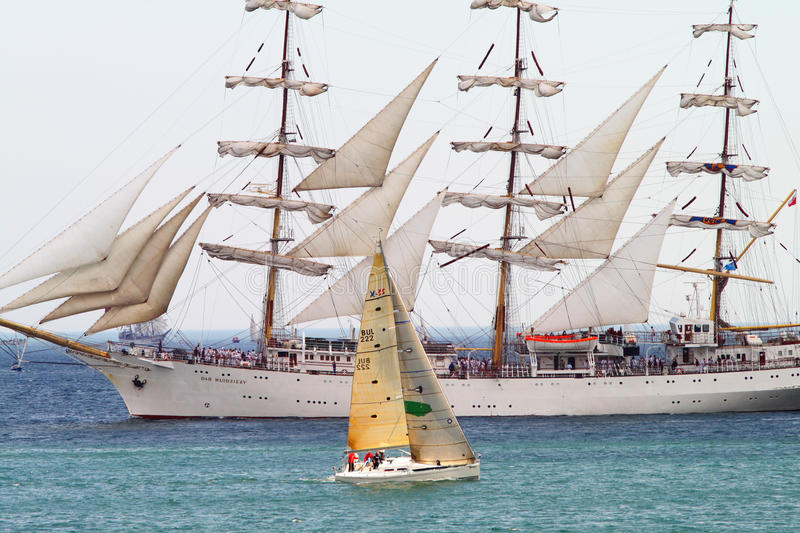 Download HISTORICAL SEAS TALL SHIPS REGATTA 2010 Editorial Photo - Image: 14478476