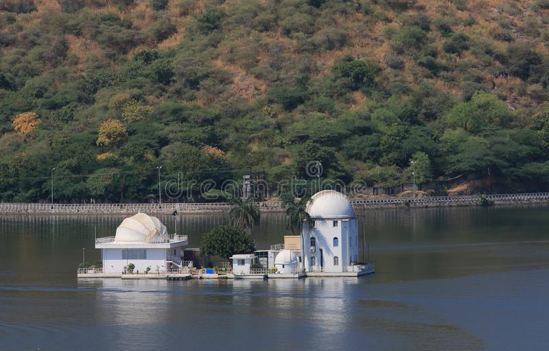 Historical solar observatory building Udaipur India. Historical solar observatory building in Udaipur India royalty free stock photos