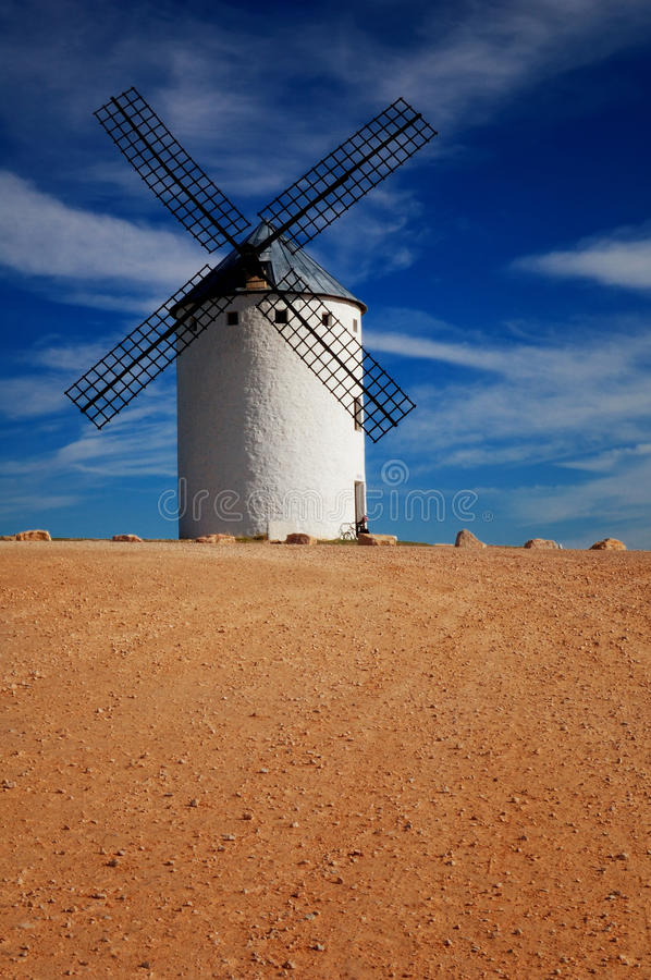 Historical Spanish Windmill Royalty Free Stock Photos