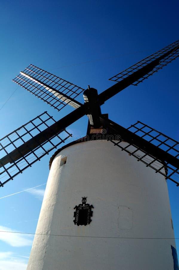 Historical Spanish windmill stock photography