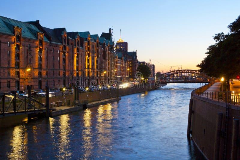 Download Historical Speicherstadt In Hamburg Stock Photo - Image: 21543318