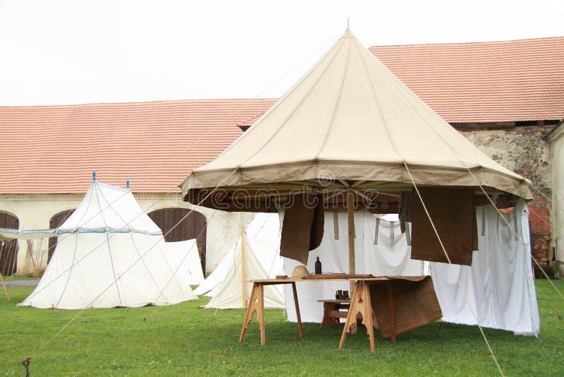 Historical spokes tent