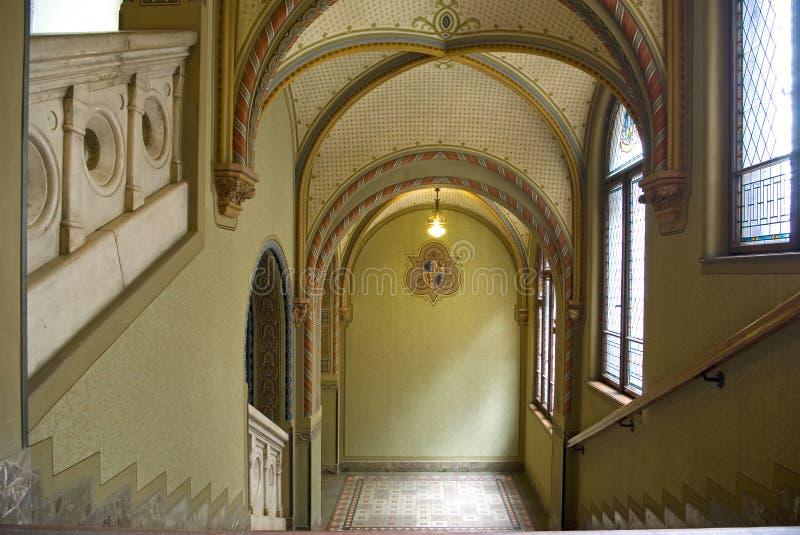 Historical staircase royalty free stock photos