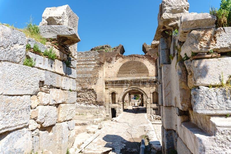 Historical Stone Walls and Doors of Iznik stock photos