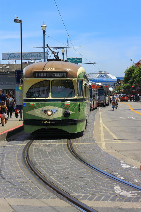 San Francisco Street Car royalty free stock images