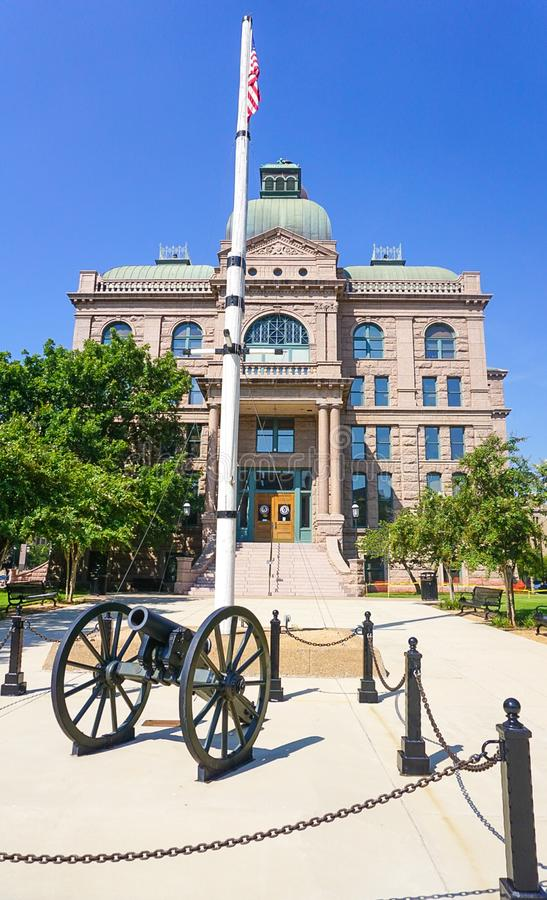 Tarrant County Courthouse in Fort Worth Texas royalty free stock images