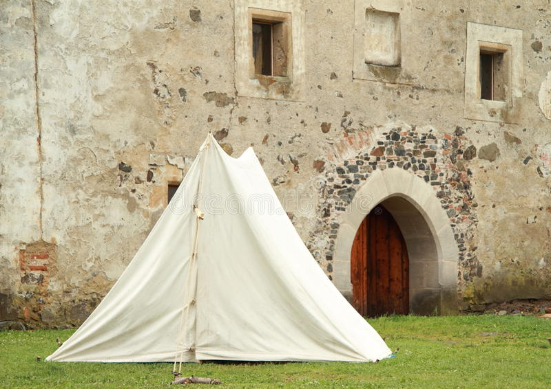 Download Historical tent stock image. Image of white, medieval - 25617977