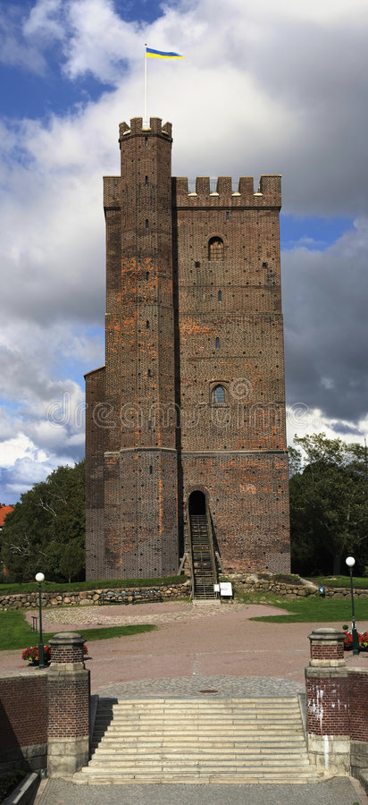 Free Historical Tower In Helsingborg, Sweden Royalty Free Stock Images - 6634699