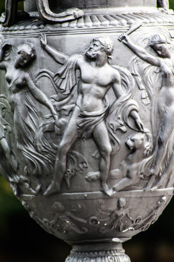 Historical vazestrong, men art ancient liking leo on vaze. Strong, men art ancient liking leo on vaze historical art stock photos