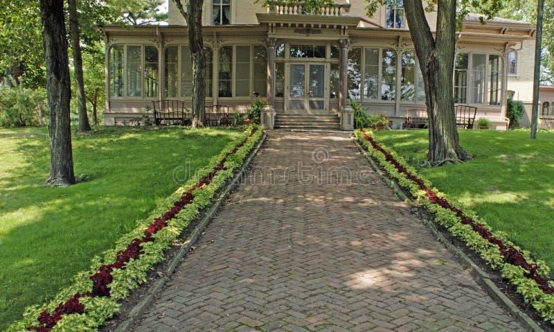 historical villa louis eight stock photos