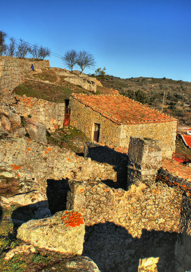 Download Historical Village Of Castelo Bom Stock Photo - Image: 49422521