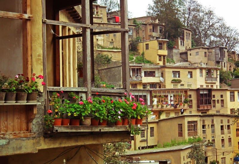 Masouleh village royalty free stock image