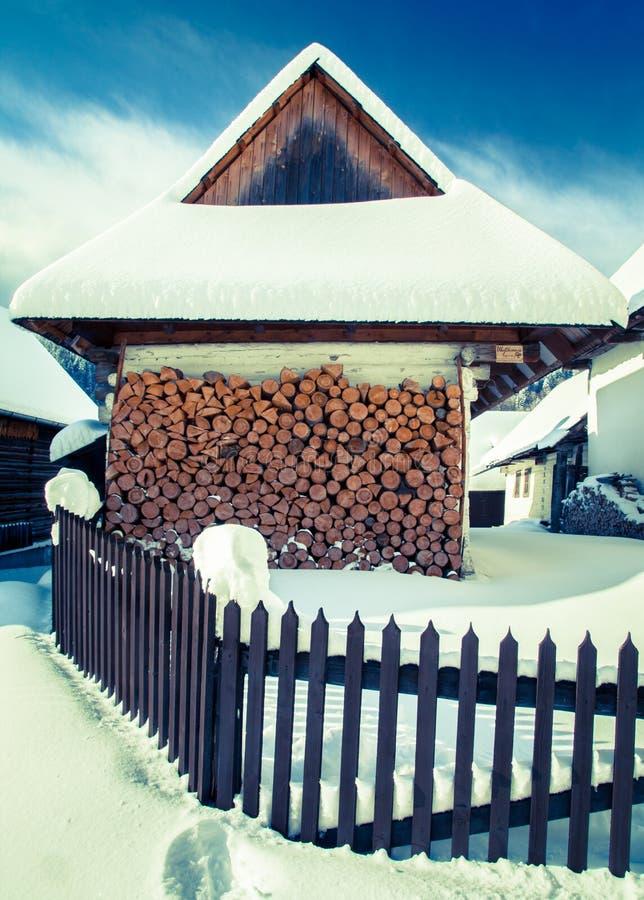 Free Historical Village Vlkolinec, SLovakia Stock Images - 49908664