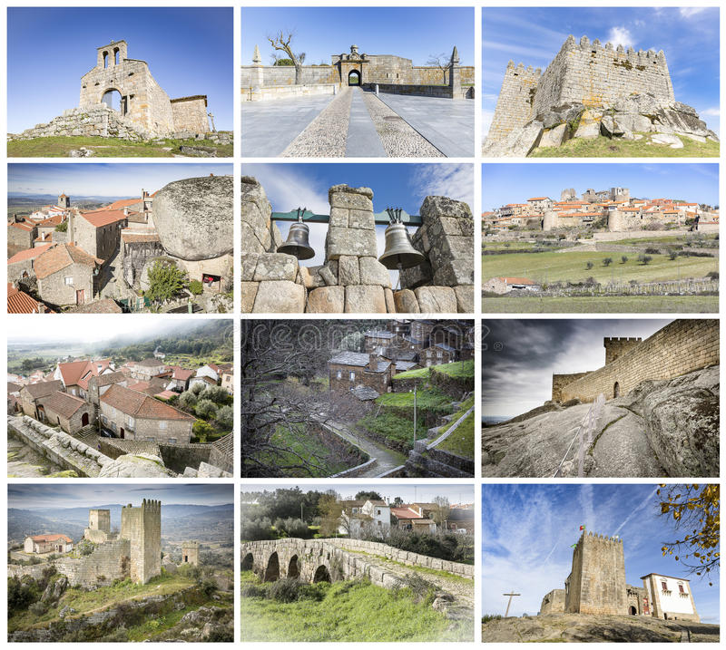 Historical Villages of Portugal - Aldeias Historicas de Portugal stock photography