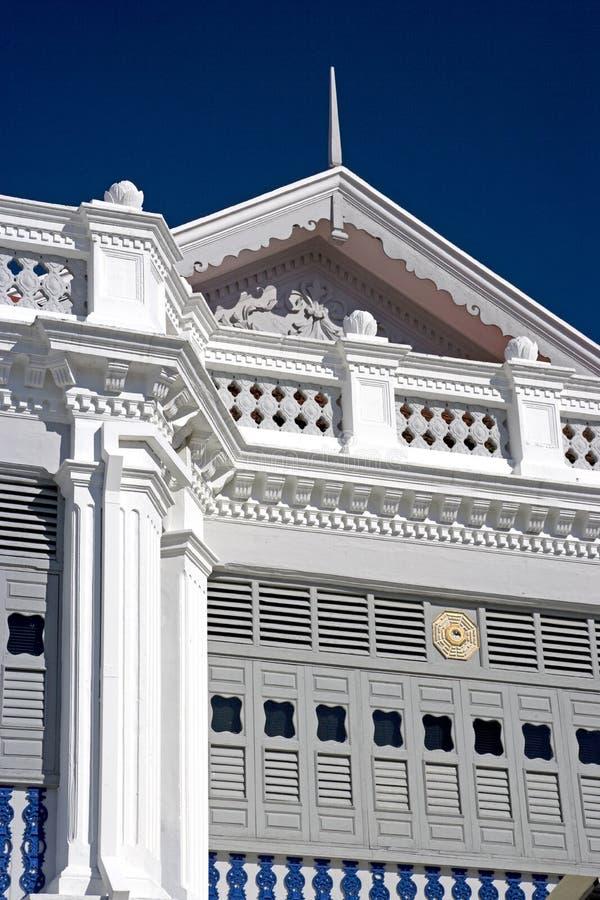 Historical white building