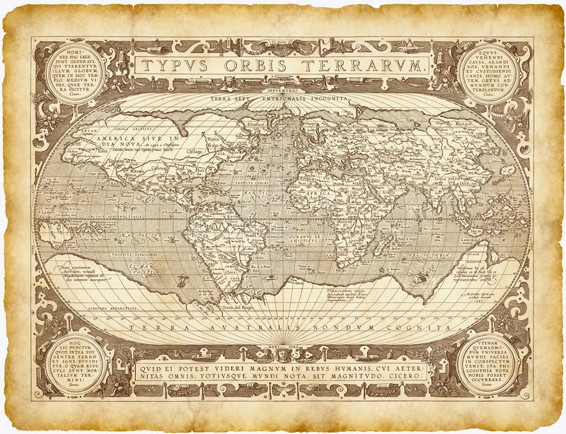 Historical world map parchment stock photo image 56776332 download historical world map parchment stock photo image 56776332 gumiabroncs Choice Image