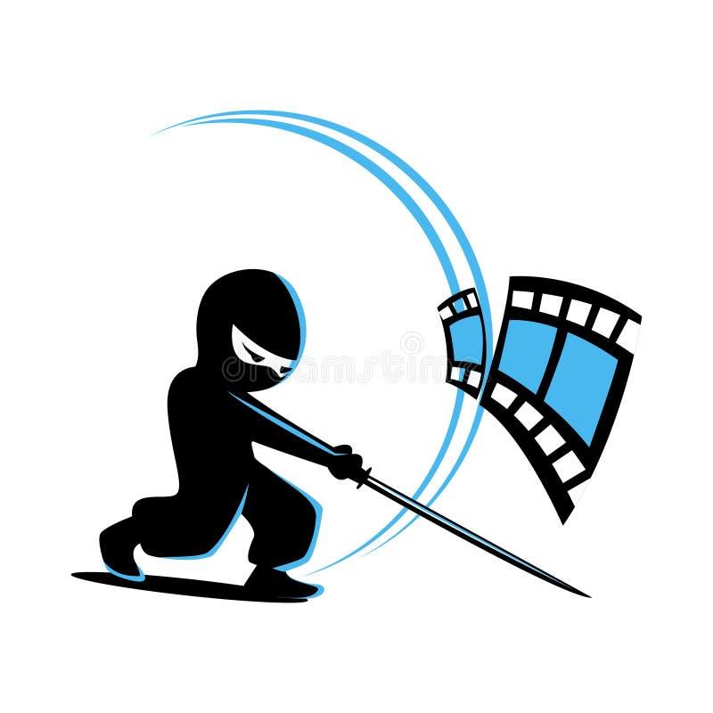 Historieta Art Weapon Film marcial del car?cter de Ninja Samurai Warrior Fighter libre illustration