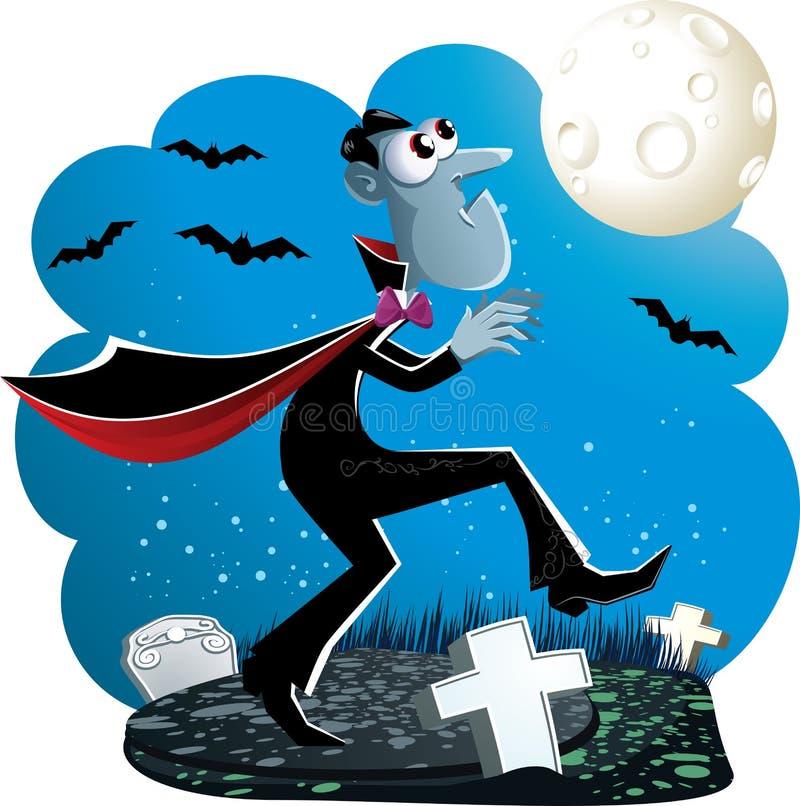 Historieta de Drácula libre illustration