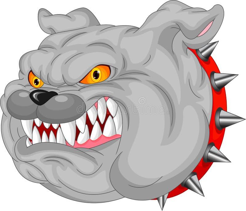 Historieta de la mascota del dogo ilustración del vector