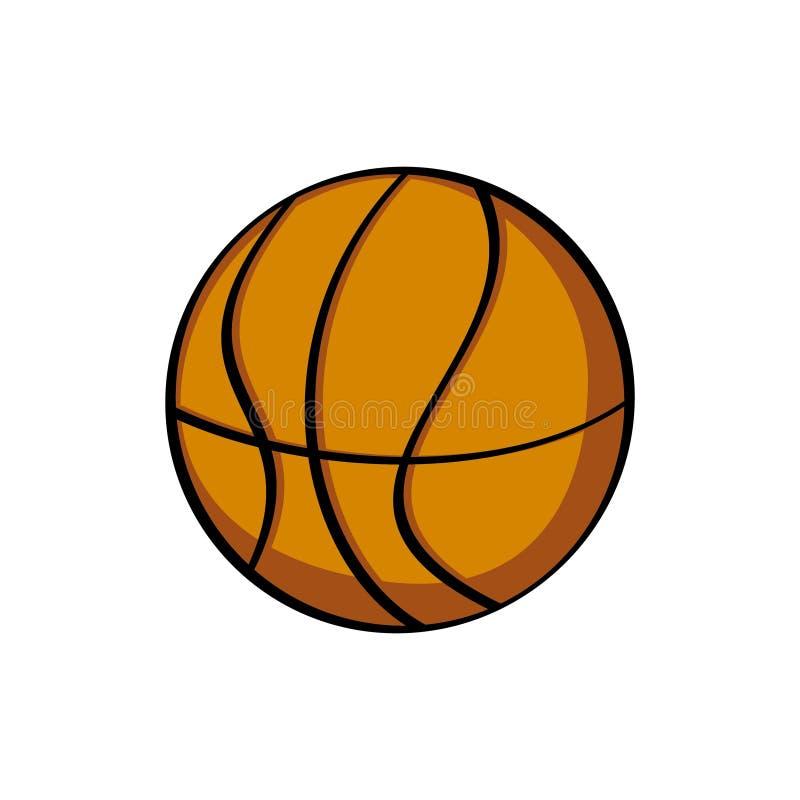 Historieta del baloncesto Arte del vector ilustración del vector