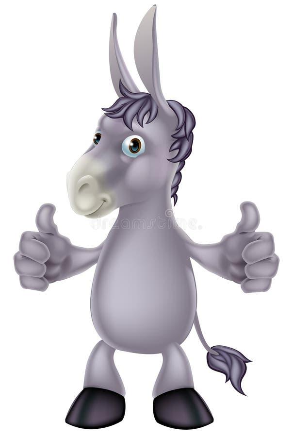 Download Historieta del burro ilustración del vector. Ilustración de divertido - 41921038