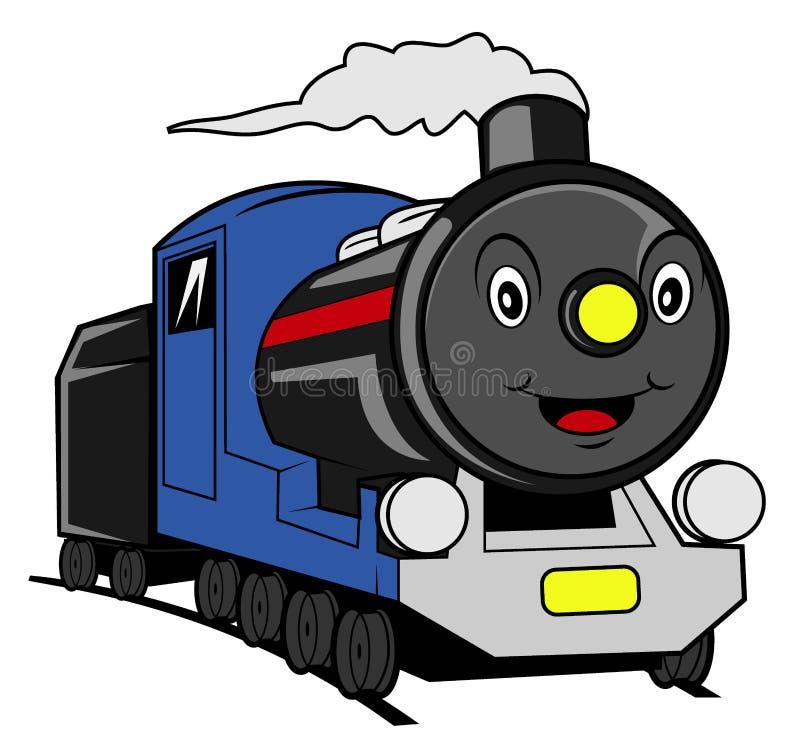 Historieta del tren ilustración del vector