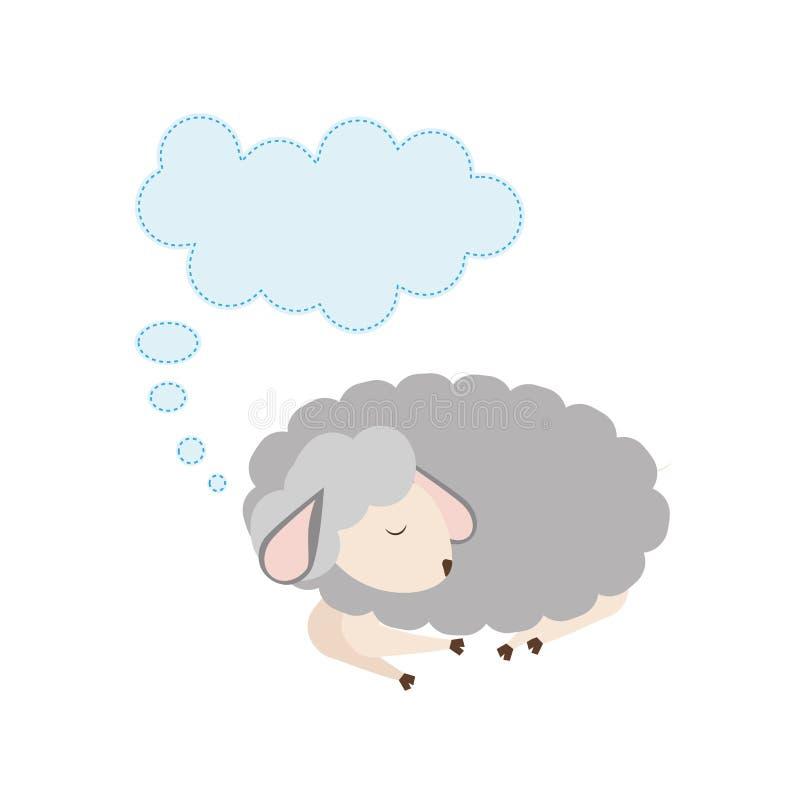 Historieta el dormir de las ovejas libre illustration
