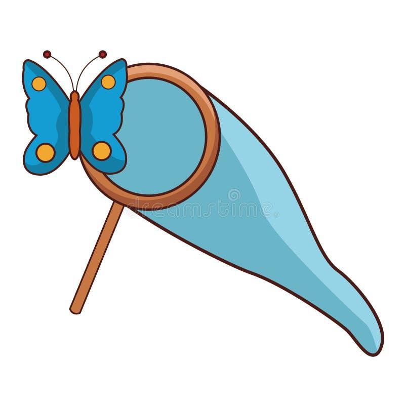 Historieta linda de la mariposa libre illustration