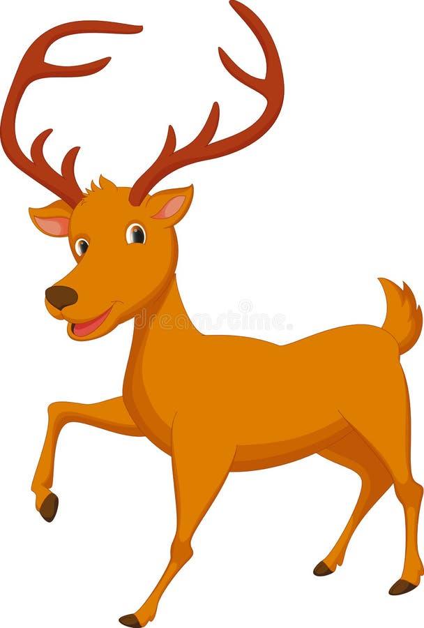 Historieta linda de los ciervos libre illustration