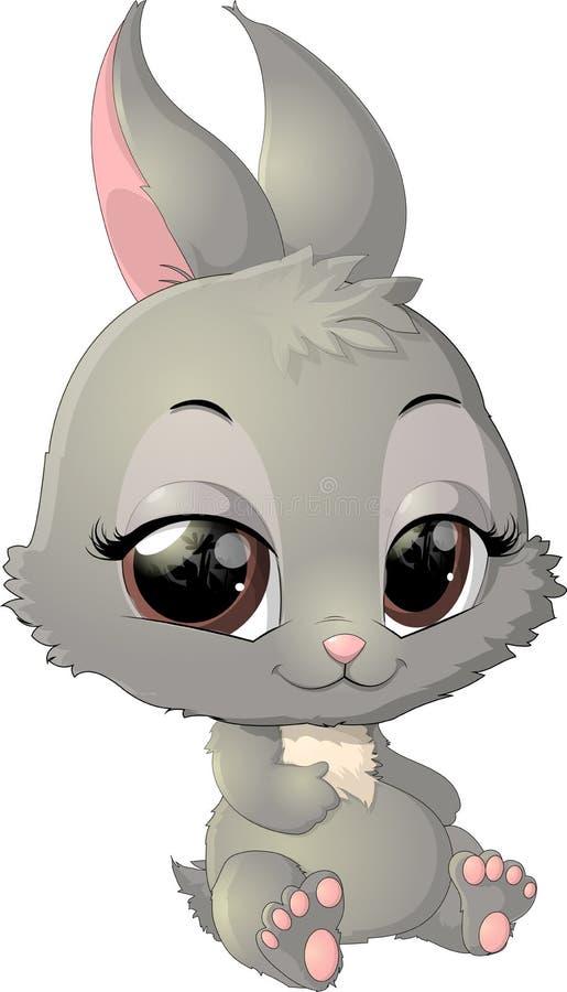 Historieta linda del conejo libre illustration