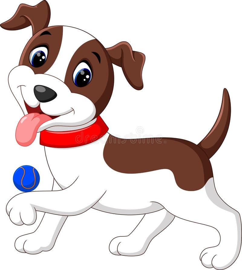 Historieta linda del perro libre illustration