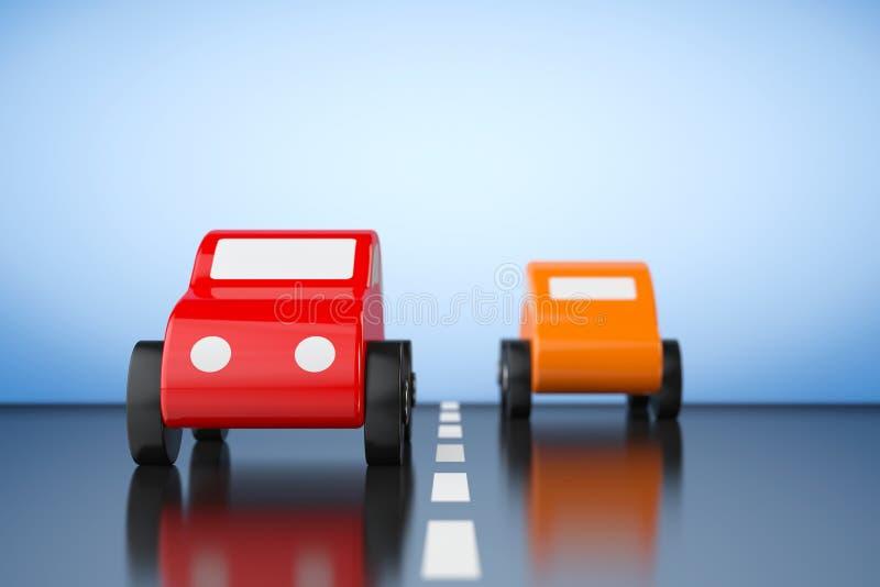 Historieta multicolora Toy Cars libre illustration