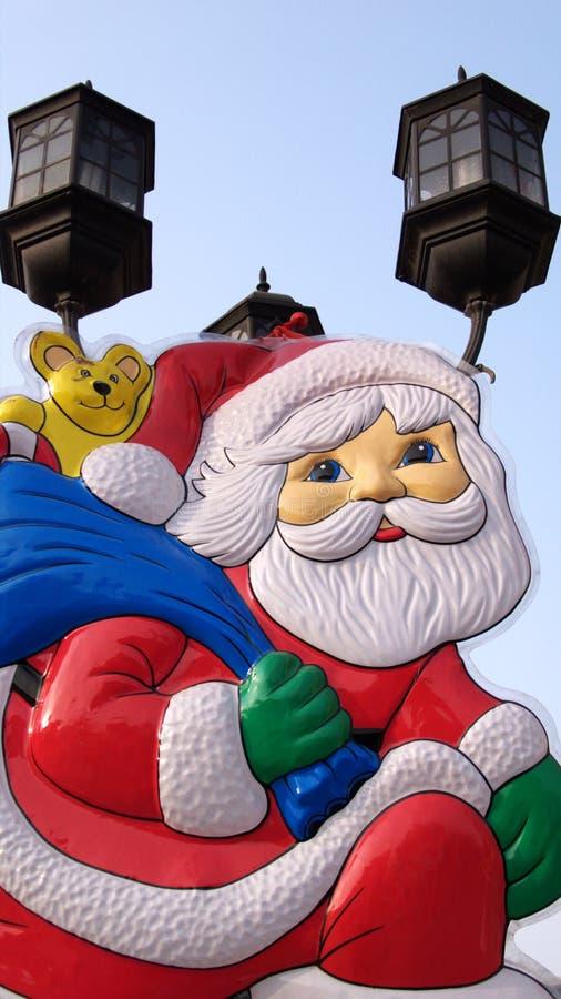 Historieta Papá Noel stock de ilustración