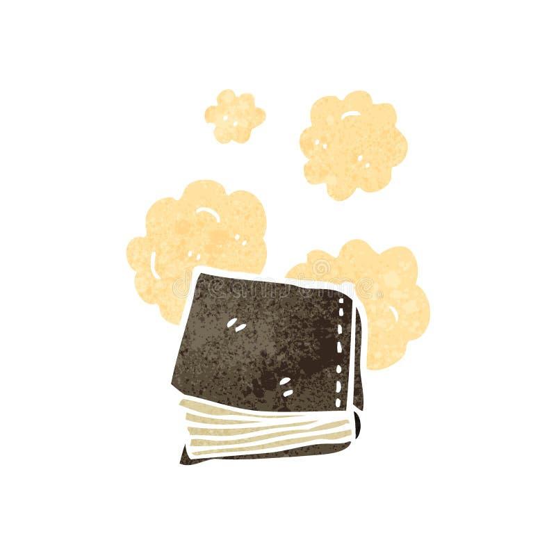 historieta polvorienta del libro viejo libre illustration