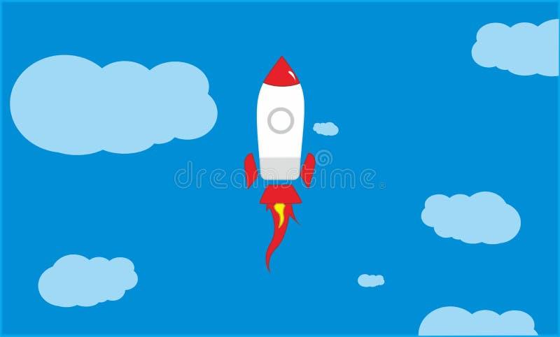 Historieta Rocket fotografía de archivo