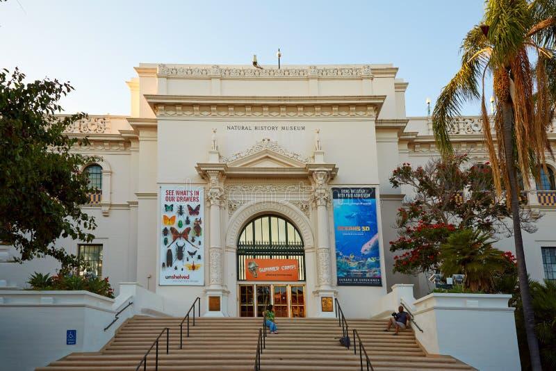 Historii Naturalnej muzeum, balboa park, San Diego zdjęcie stock