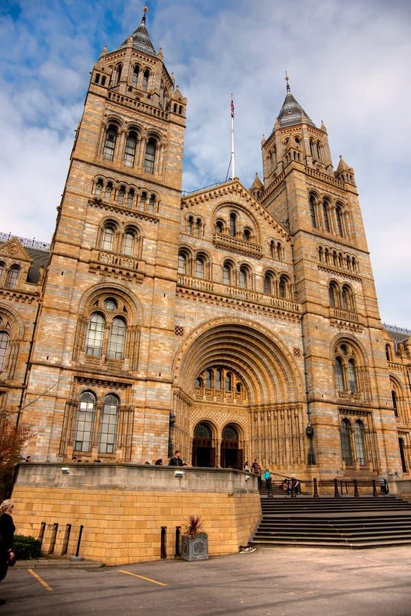 Historii Naturalnej Muzeum, Londyn. zdjęcie royalty free