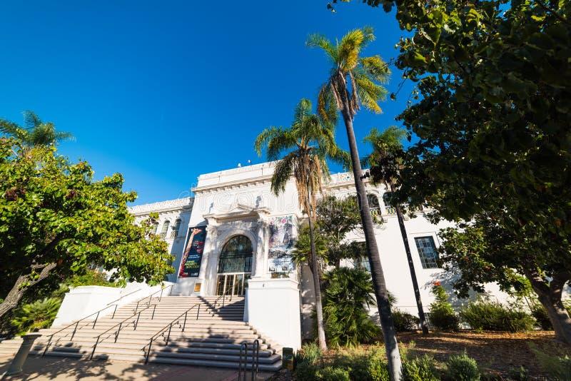 Historii Naturalnej muzeum w balboa parku obraz stock