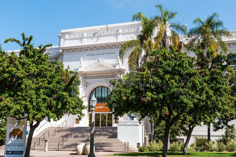 Historii Naturalnej muzeum w balboa parku obrazy royalty free