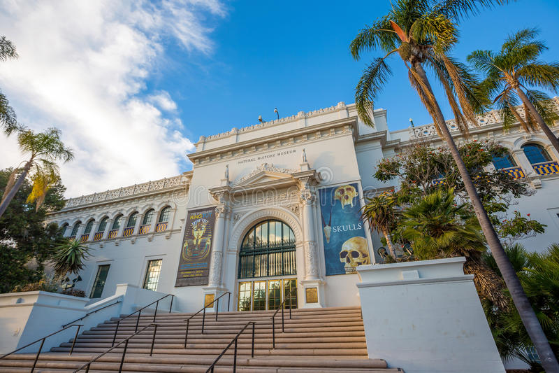 Historii Naturalnej muzeum w San Diego fotografia royalty free