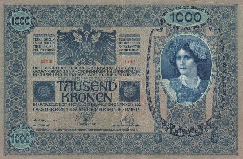 Historique - billet de banque photo libre de droits