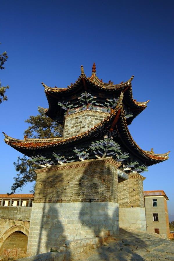 historique chinois de construction photo libre de droits