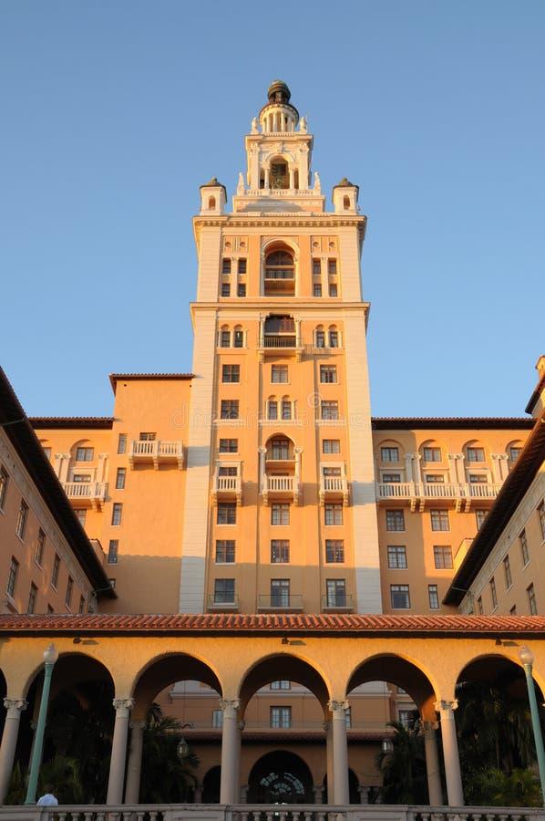 Historisch Biltmore Hotel, Miami royalty-vrije stock afbeeldingen