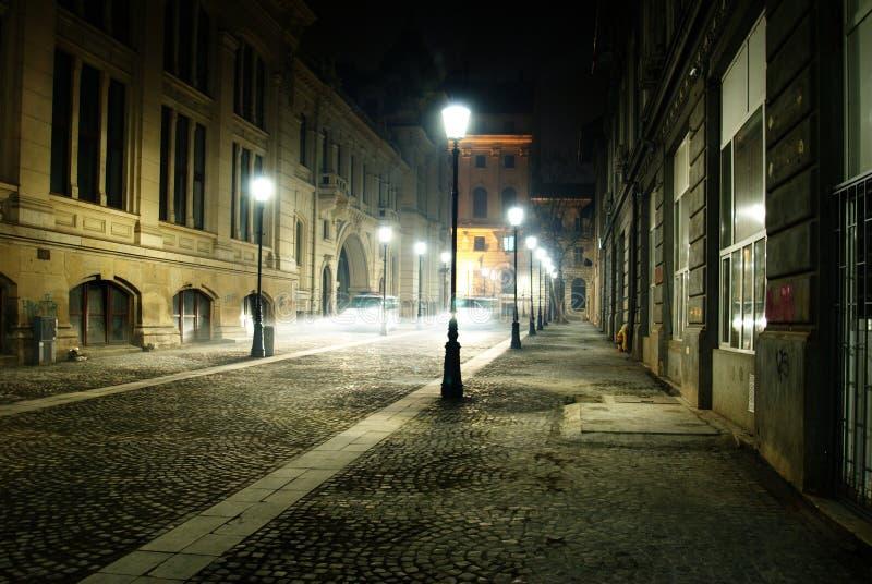 Historisch Centrum van Boekarest stock afbeeldingen