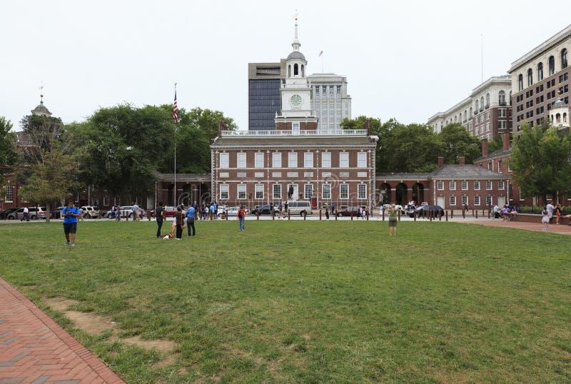 Historisch centrum van Philadelphia, Pennsylvania, de V.S. stock foto