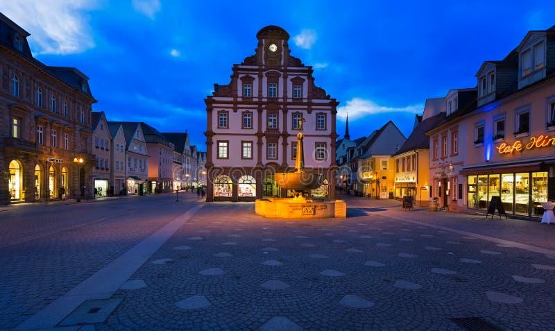Historisch centrum van Speyer, Duitsland stock foto