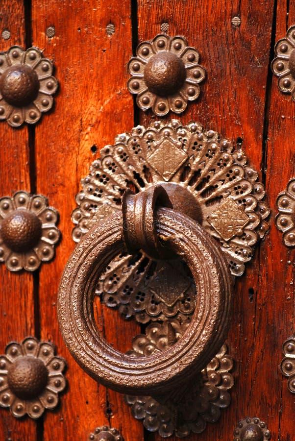 Historisch deurdetail royalty-vrije stock fotografie