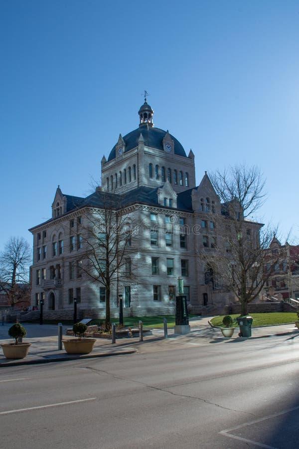 Historisch Gerechtsgebouw in Lexington Kentucky royalty-vrije stock foto's