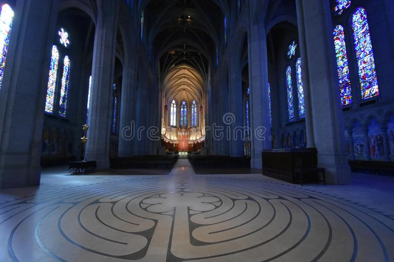 Historisch Grace Cathedral, 4 stock foto